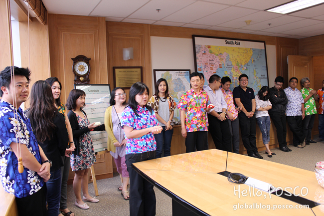 POSCO South Asia goes global and act local with Thai Songkran festival