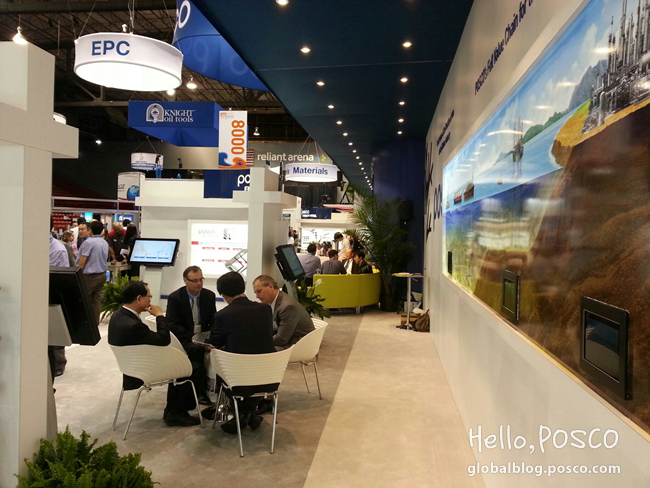 POSCO shows its competence at Offshore Technology Conference