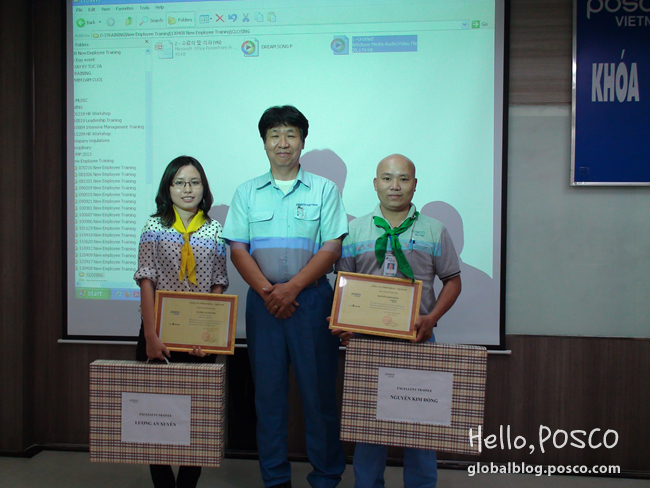 POSCO Vietnam's New Employees join 5 day Training Program