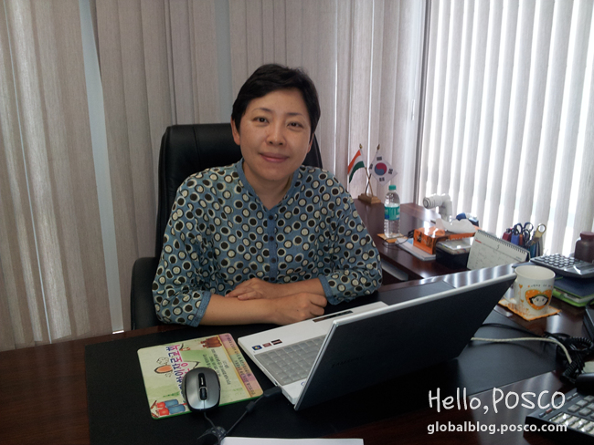 POSCO Woman: Piloting the Steel Processing Center in India
