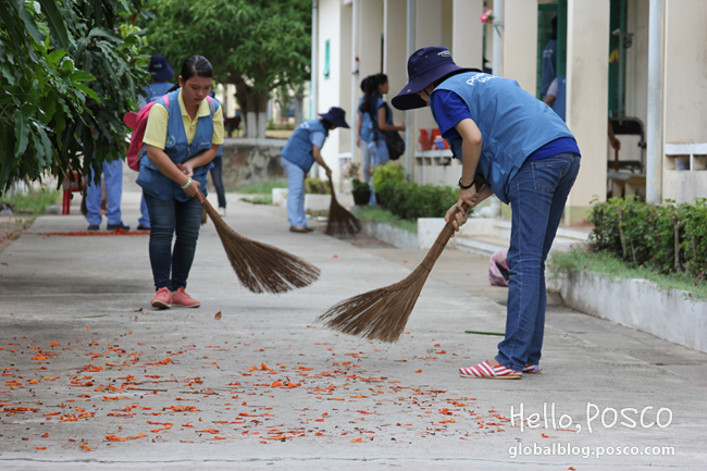 POSCO Global Volunteer Week in Vietnam