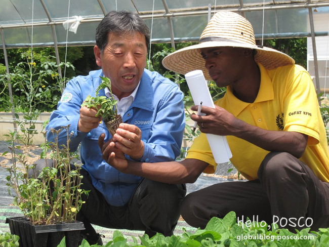 POSCO invites Mozambique's next generation farmers to Eco Farm