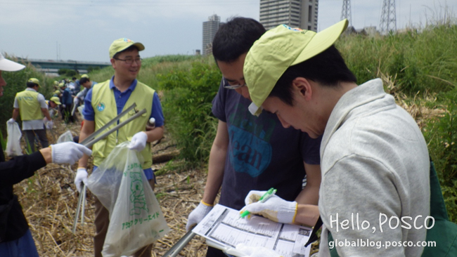 POSCO Japan Shares Meaningful Moments By Saving the Environment and Celebrating Summer's Start