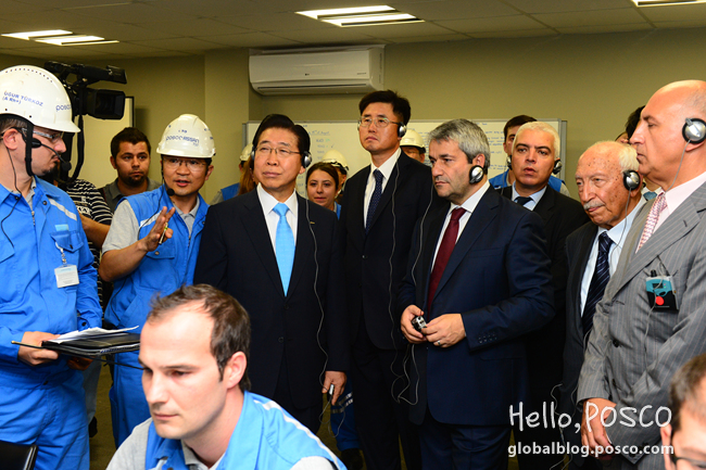 POSCO Accomplishes Global Production and Sales Network with Stainless Steel Mill in Izmit, Turkey