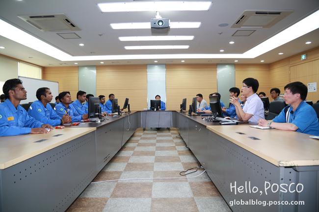 POSCO Maharashtra's Engineers Enhance Job Competency by Education Program at Gwangyang Steelworks