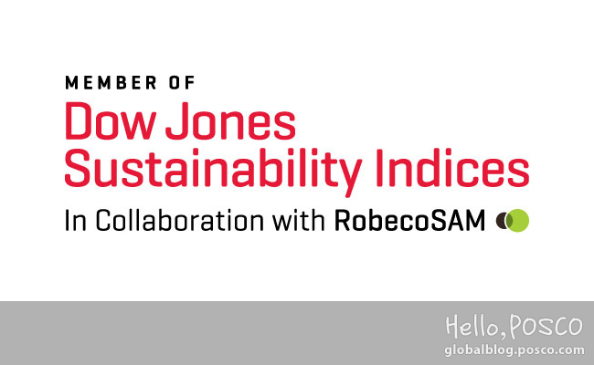 POSCO Selected as global sustainable leading company for 9 consecutive years by SAM Dow Jones