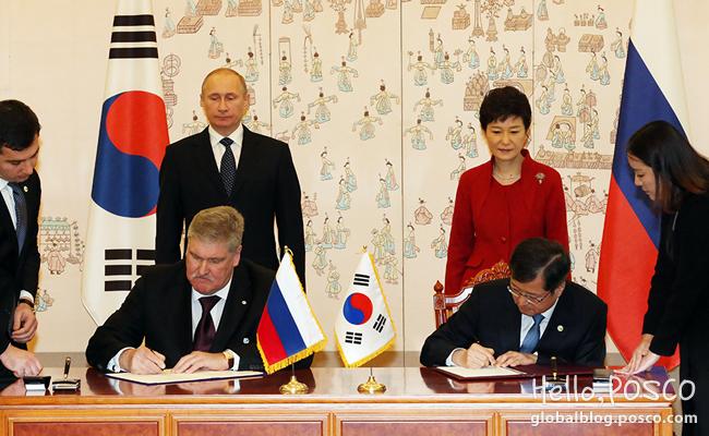 POSCO Participates in Najin-Khasan project First step to Eurasian Silk Road