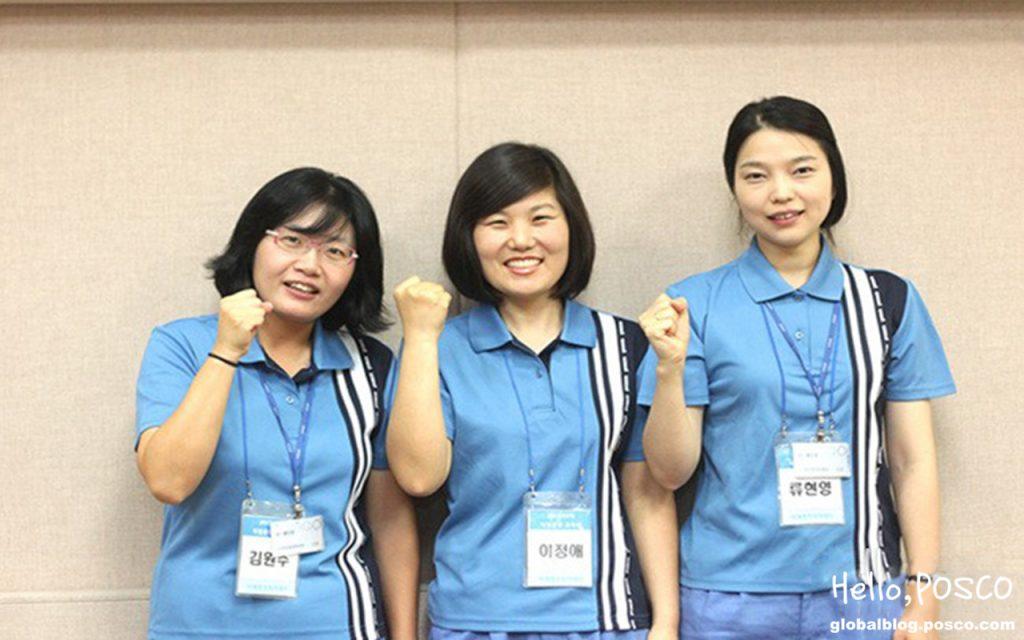 세명의 간호사