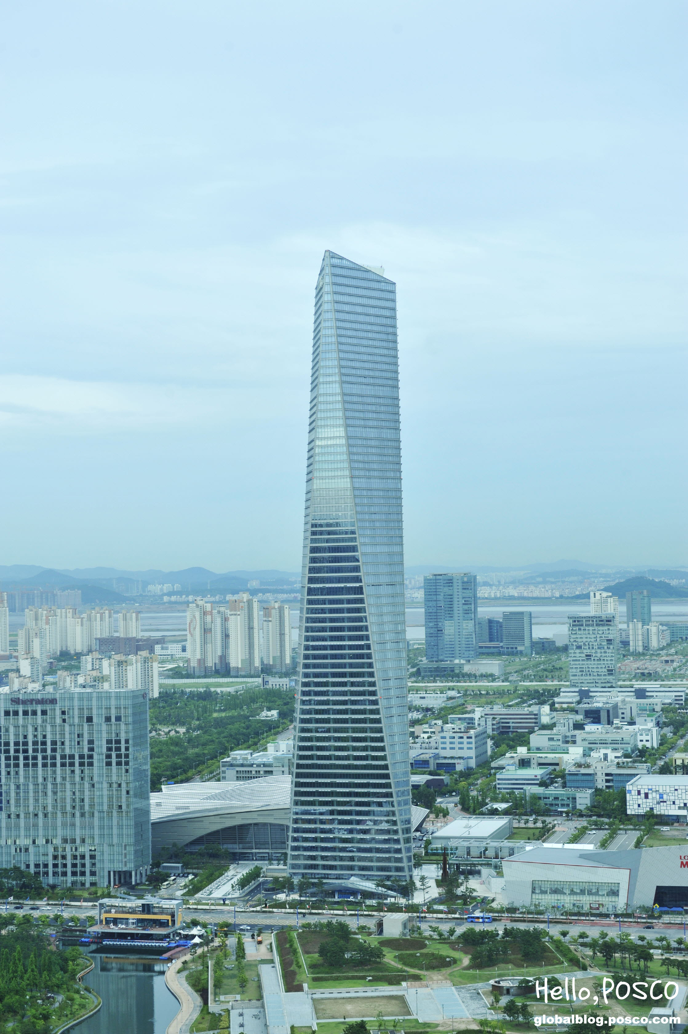 Northeast Asia Trade Tower: The Crown Jewel of POSCO's