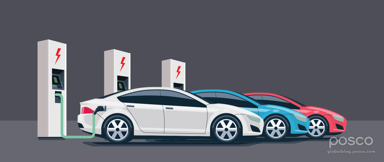POSCO Takes Charge in Electric Vehicle Charging Infrastructure Market