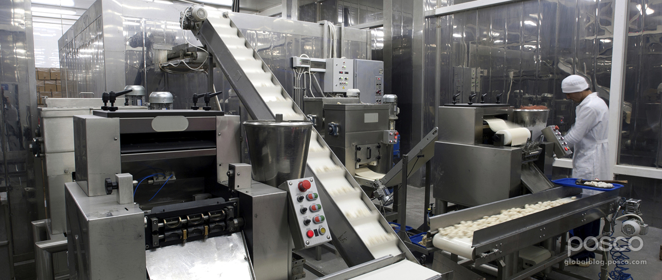 How Stainless Steel Improves Food Hygiene