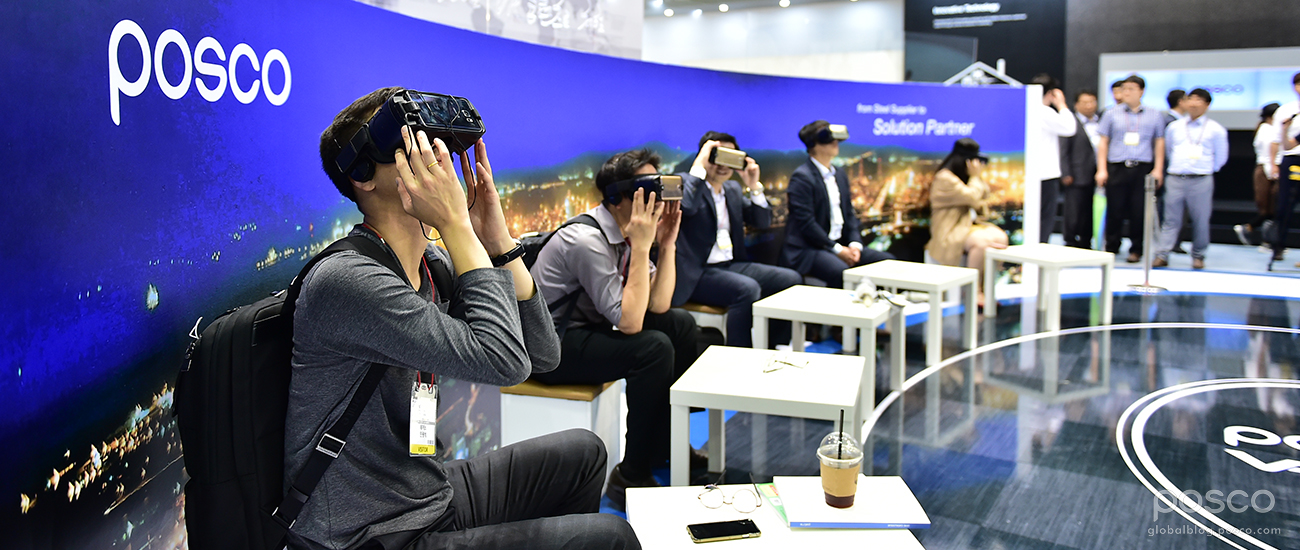 VR Is Changing the World – And POSCO Is Changing With It