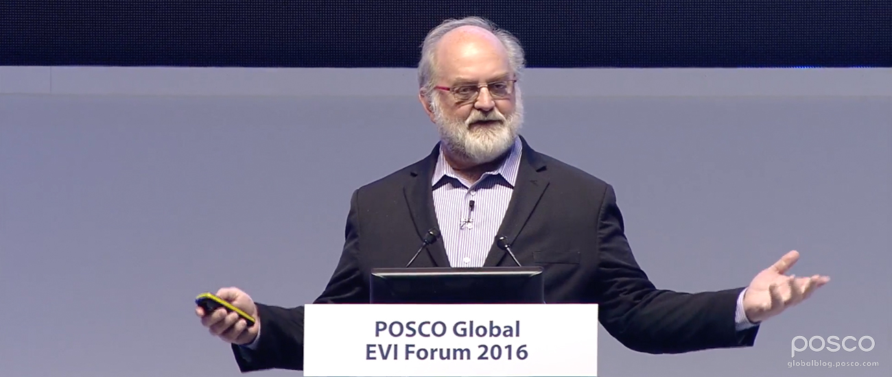 Foreseeing the Future of Steel: Futurist Thomas Frey Talks at POSCO EVI Forum
