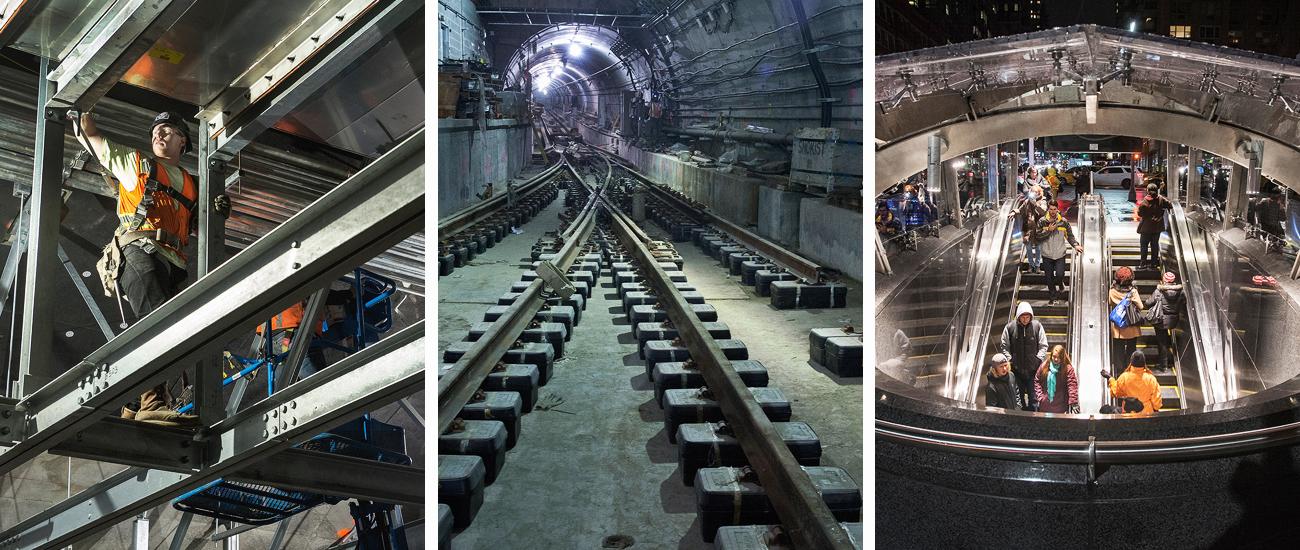 3. From steel beams to steel tracks