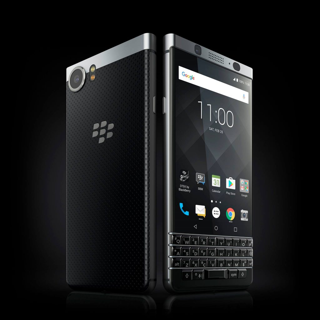 BlackBerry launches its KeyOne at MWC 2017
