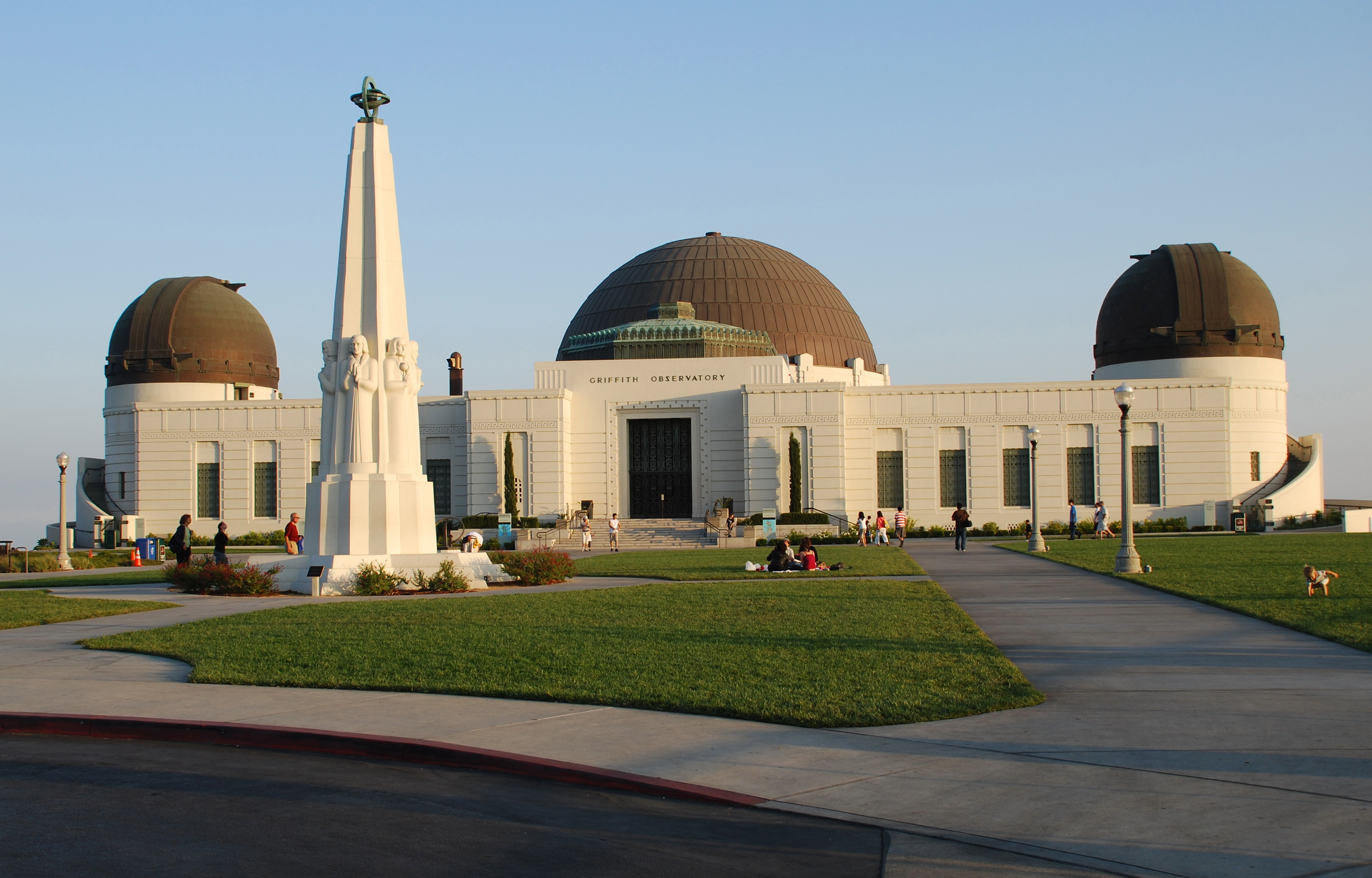 3 Griffith Observatory today
