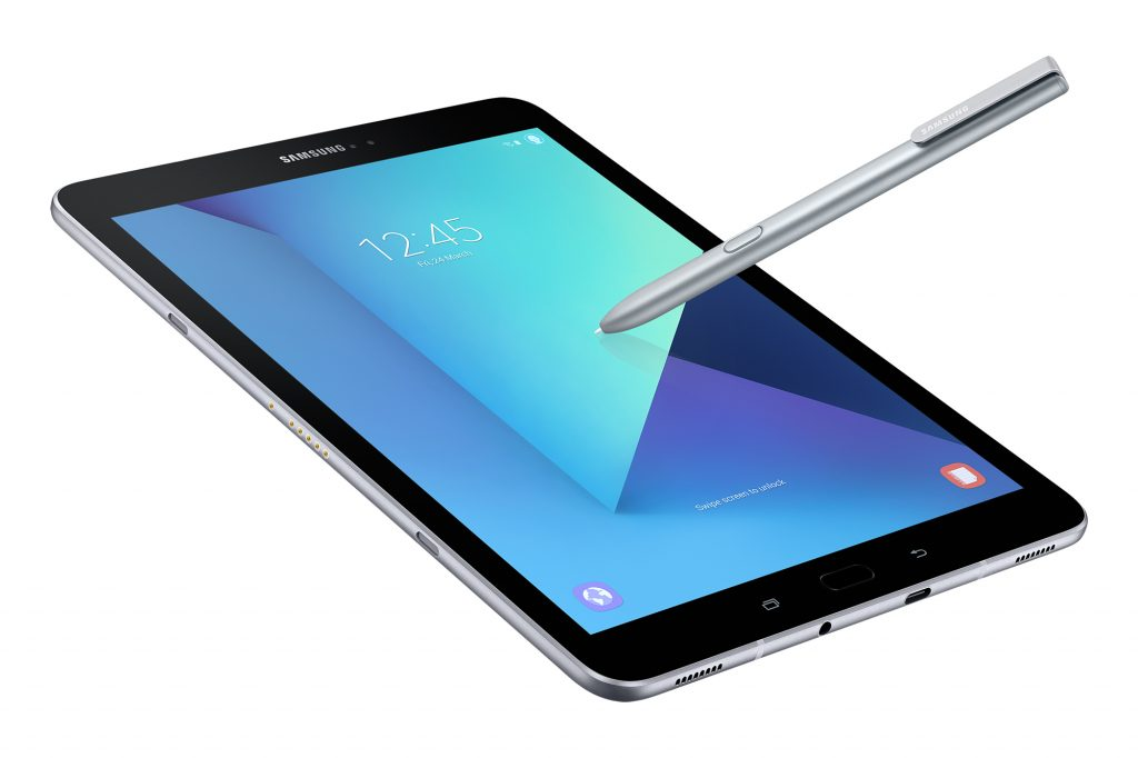 Samsung launches its new Galaxy Tab S3 tablet at MWC 2017