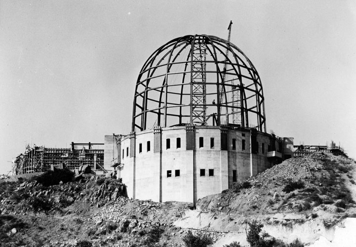 4 Griffith Observatory under construction