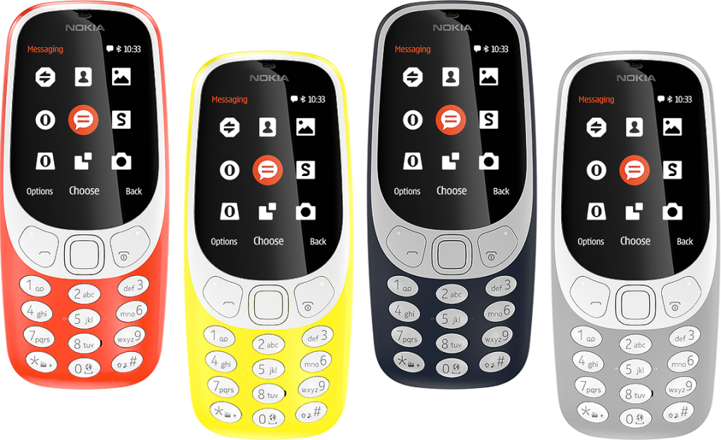 Nokia re-launches its popular 3310 feature phone at MWC 2017