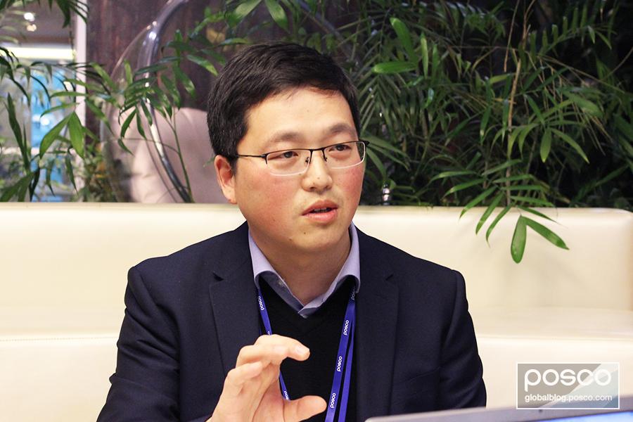 Wen Feng talks to The Steel Wire about employee development