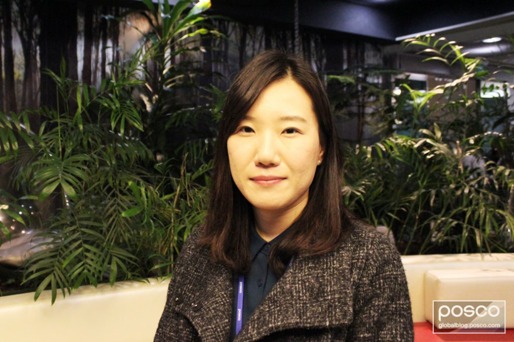 Kim Huyn Ah talks to The Steel Wire about POSCO China's customer service