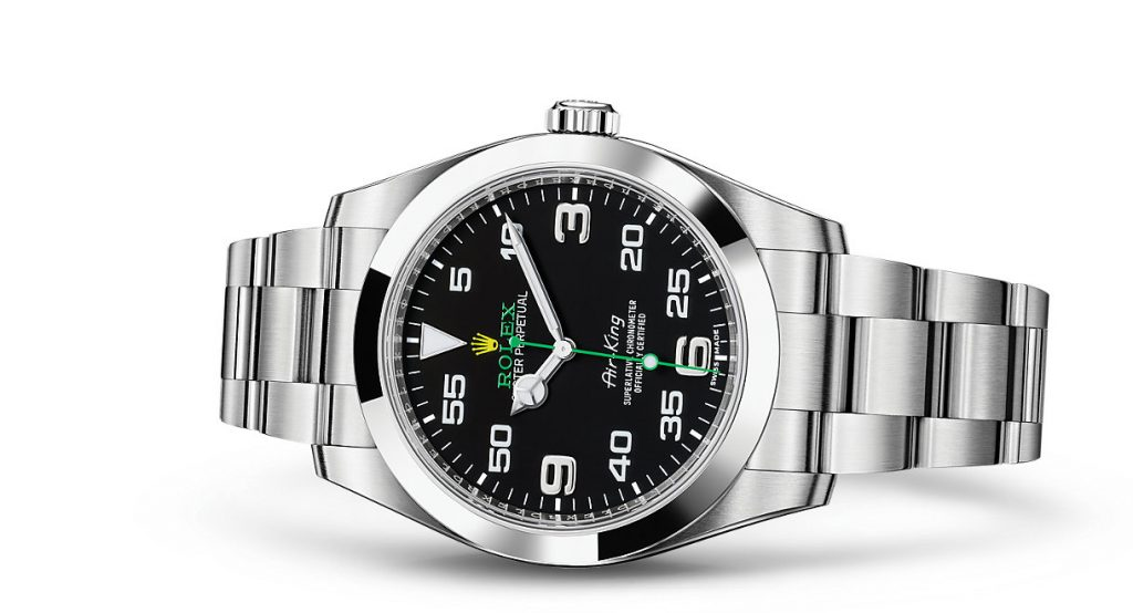 Rolex utilizes steel 904L for preventing rashes and making it harder, tougher, brighter.