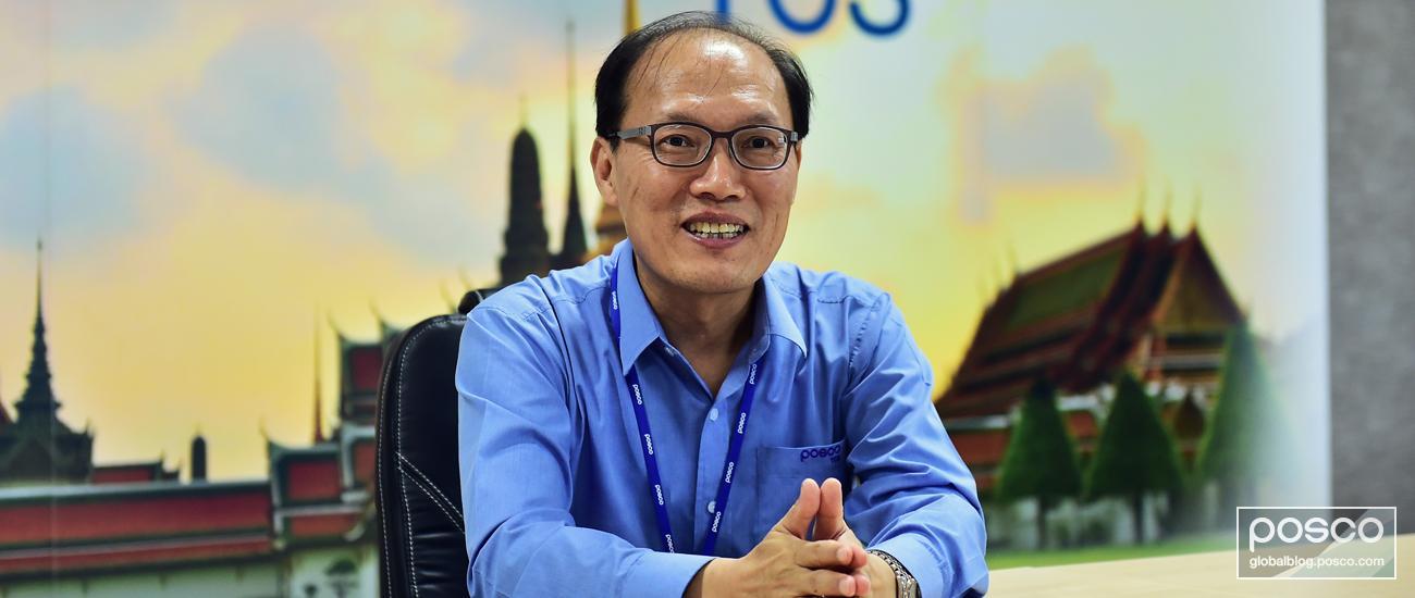 POSCO TCS President Lee Jin-soo explains the outlook for the region.