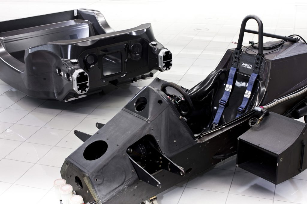 The McLaren MP4/1 was the first car frame to be made from CFRP.