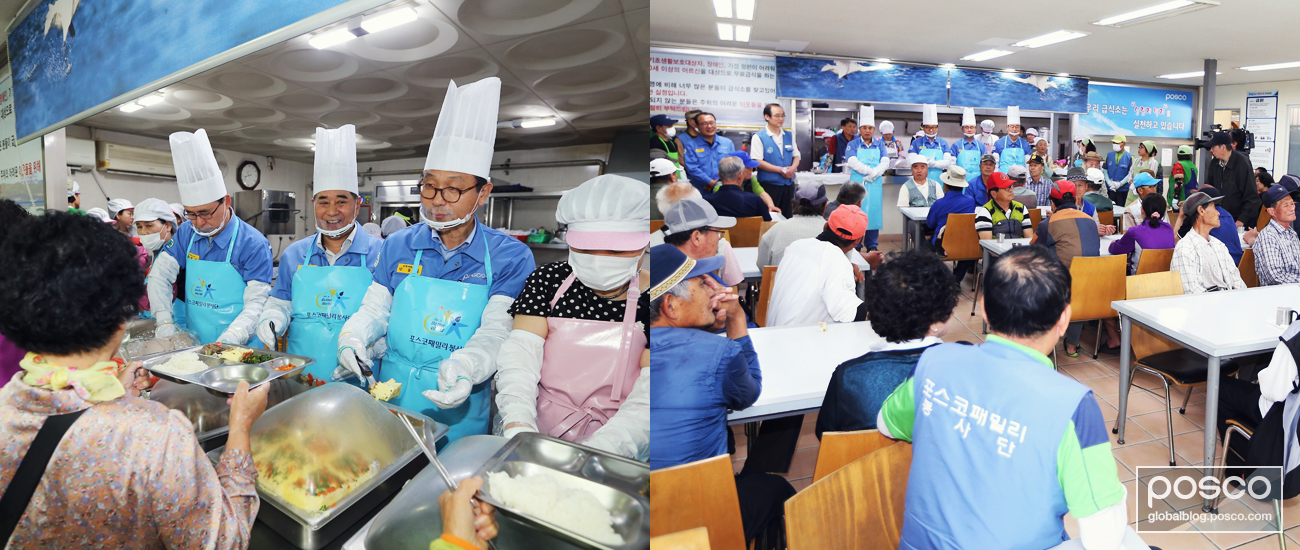 Volunteer groups in Gwangyang launched a lunchbox delivery business to create jobs for the elderly and held classes for women from minority communities.