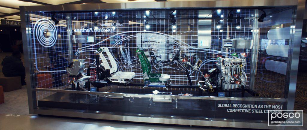 POSCO's PBC-EV made with POSCO GIGA STEEL on display