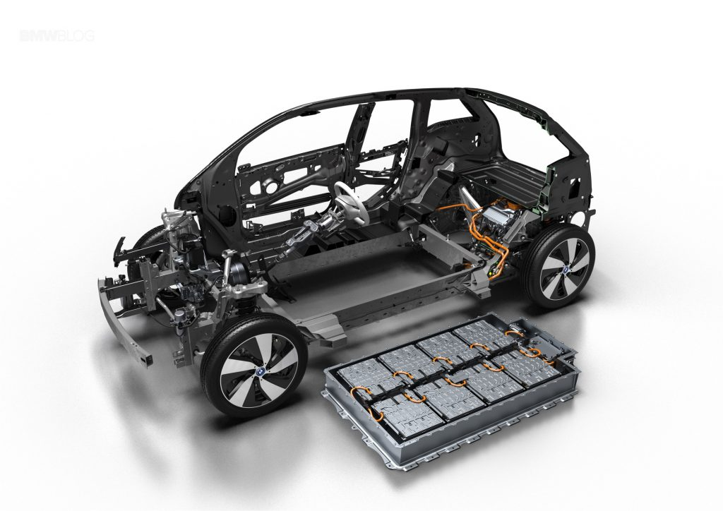 The 2017 BMW i3 Electric Battery