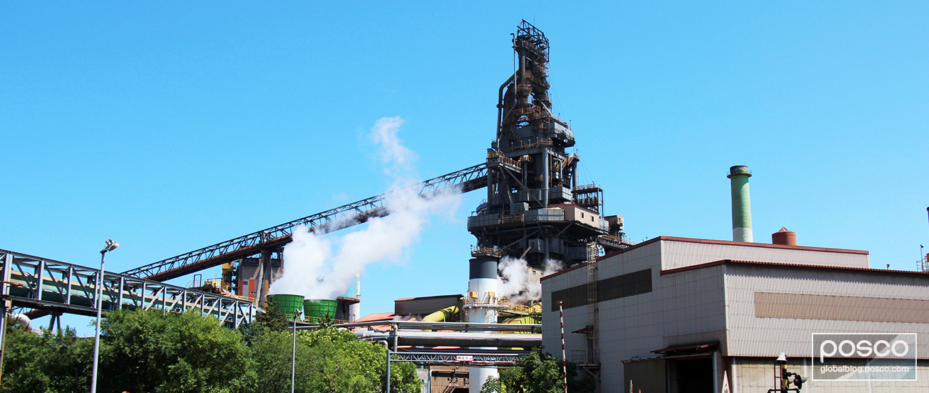 The Pohang No.1 blast furnace