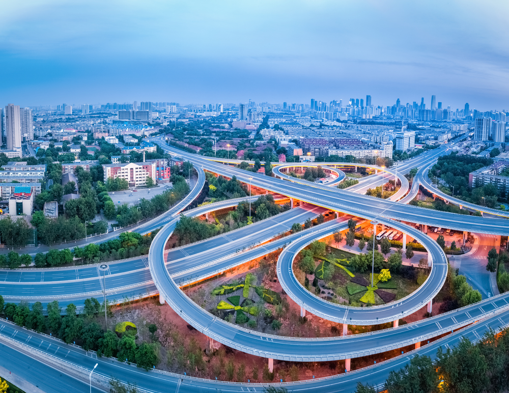 Tianjin City traffic