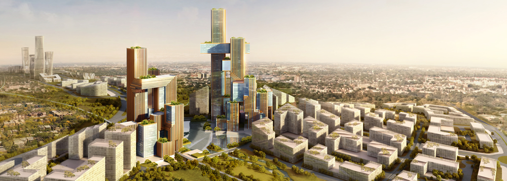 The planned Modderfontein Smart City located in Johannesburg is being developed by Chinese firm Zendai.