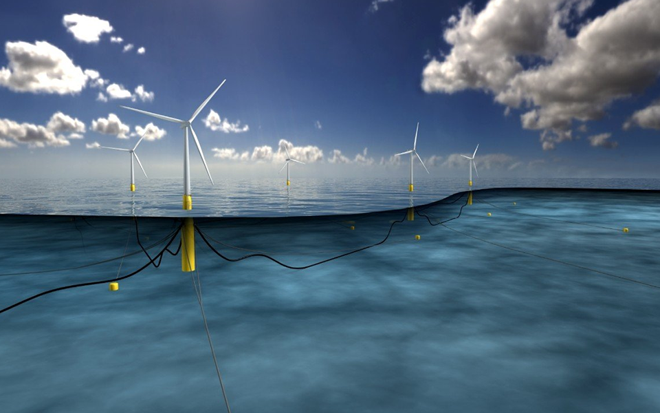 Hywind Scotland, the world's first floating wind