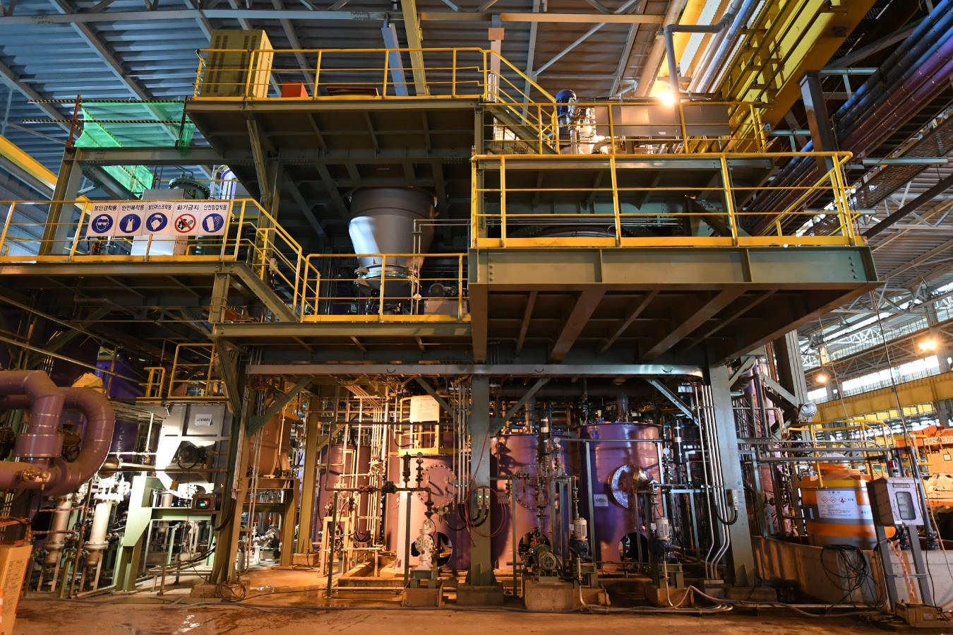 POSCO is producing lithium hydroxide for electric vehicles