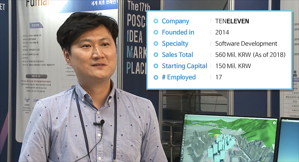 Ho-Young Lee, the CEO of TENELEVEN and the Winner of the 17th IMP