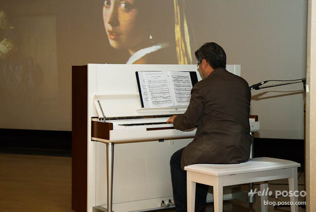 '피아노가 있는 미술사' 넌 보기만 하니? 난 직접 들으며 본다