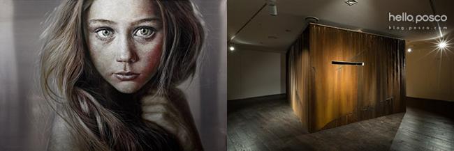 한영욱의 Face, 2012(좌), 김종구의 White Space, 2014(우)