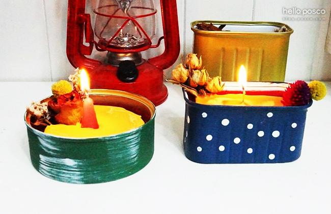 집안을 따뜻하고 은은하게밝혀주는크리스마스 캔들