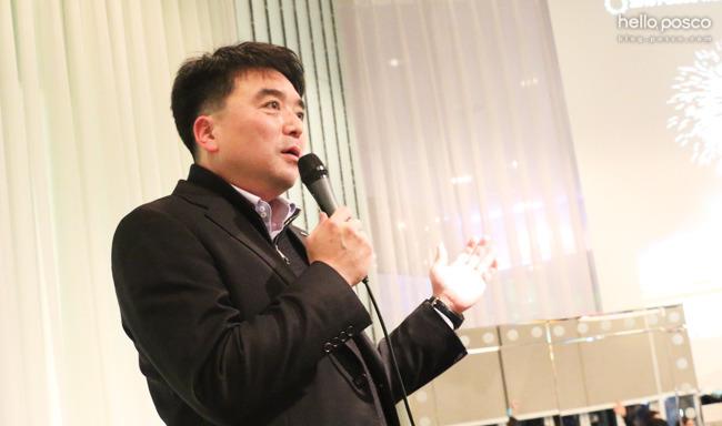 포스코 인사그룹 직책자이신 박종일 리더님의 조언 모습