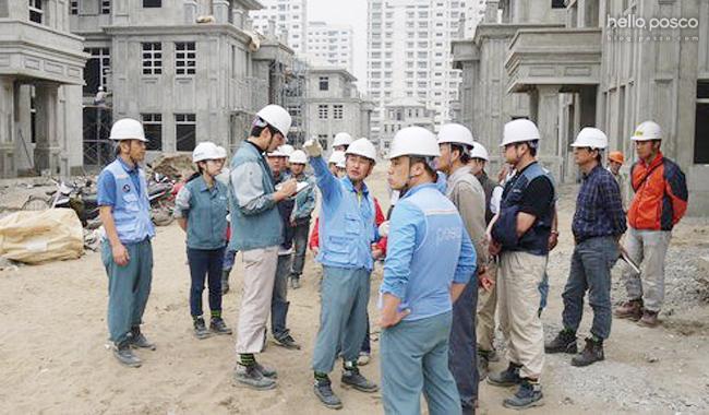 베트남 하노이 신도시 개발사업 현장