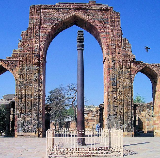 델리의 철 기둥