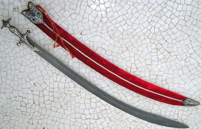 다마스쿠스의 물결무늬