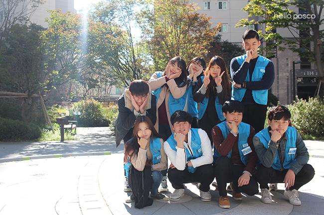 포스코 대학생봉사단 비욘드 10기 영상팀