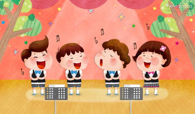 초등학생 합창대회 이미지