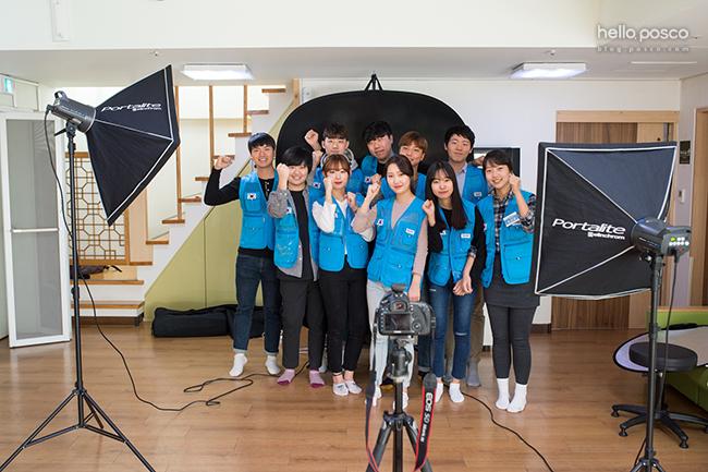 포스코 대학생봉사단 비욘드 10기 홍보팀