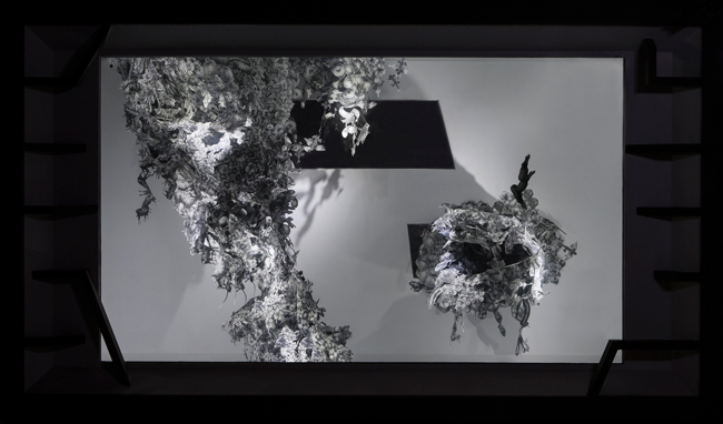 강주리-Chaos,혼합매체,260x450x168cm,2016