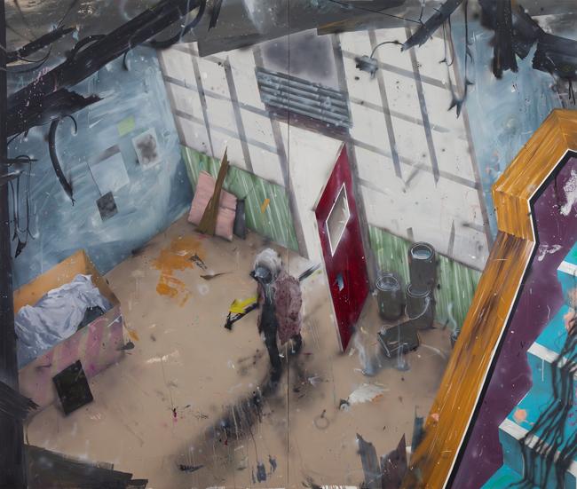 박석민-타인의 시간, 170.2×200.3cm, Oil on canvas, 2015