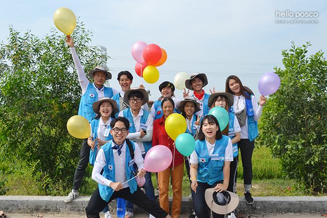 뜨겁고 따뜻했던 포스코 대학생 봉사단 10기의 해외봉사 현장!